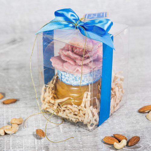 Медовый подарок с розой
