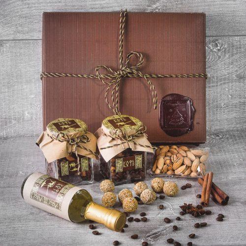 Орехово-кофейный подарок