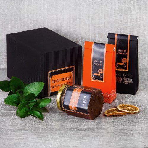 Стильный чайный подарок для металлурга