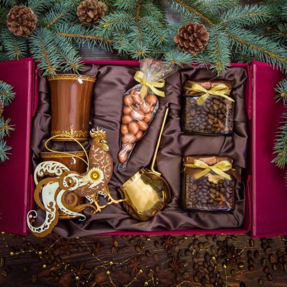 чай в упаковке новый год